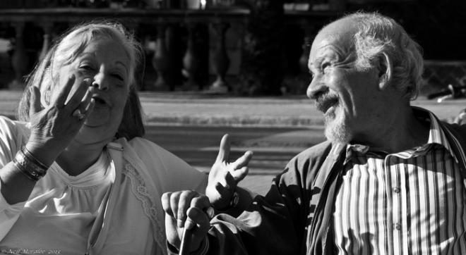 older couple still in love  neil moralee